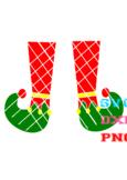 FREE Santa Elf Legs svg and png file