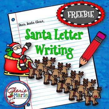 FREE Santa Letter Writing  /  Letters to Santa / Christmas Writing