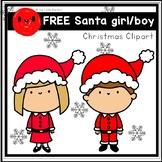 FREE Santa boy and girl