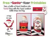 FREE Santa-tizer Gift Printable - Make A Fun Christmas Gift!