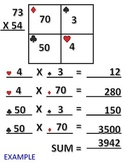 FREE! Scaffolded Multiplication Sheet