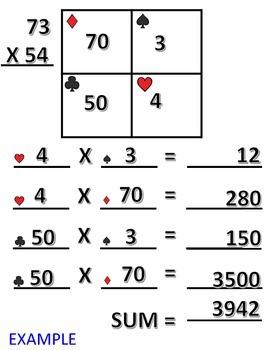 FREE! Scaffolded Multiplication Sheet