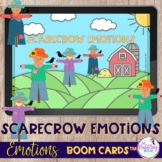 FREE Scarecrow Emotions Boom Cards™