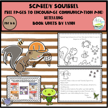 FREE-Scaredy Squirrel Retelling