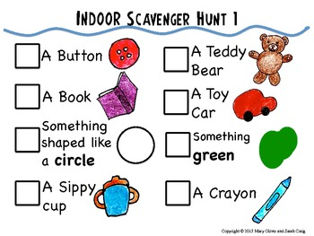 How to Play Christmas Lights Scavenger Hunt: Free ... |Scavenger Hunt Printable Games Worksheets