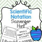 {FREE} Scavenger Hunt: Scientific Notation