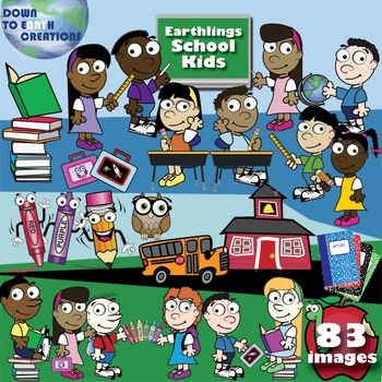 Back To School - Clip Art Package - 83 images