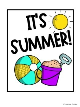 School's Out: Summer Countdown Poster