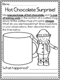 Science Experiment: Hot Chocolate Surprise