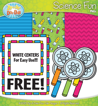 FREE Science Fun Clipart & Papers Set {Zip-A-Dee-Doo-Dah Designs}