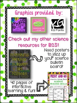 *FREE* Science Interest Survey FREEBIE - PERFECT FOR BACK TO SCHOOL!