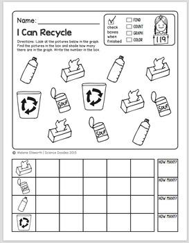 Doodle Notes - FREEBIE! NO-PREP Kindergarten Science Doodles Printables