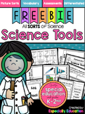 FREE Science Sorting Activities: Science Tools