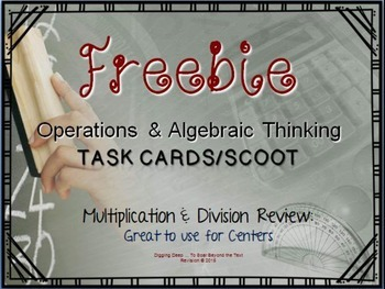 FREE ~ Scoot: Operations and Algebra in Multiplication & Division