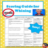 FREE! Scoring Guide for Whining - FUNNY!