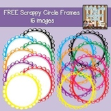 FREE Scrappy Circle Frames {Personal/Commercial Use}
