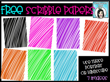FREE Scribble Pages