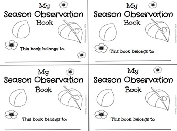 FREE Season Observation Book