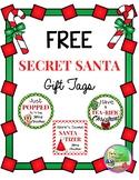 FREE Secret Santa Gift Tags