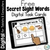 FREE Secret Sight Word Spelling Practice: Digital Word Wor