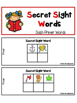 Secret Sight Words - Primer