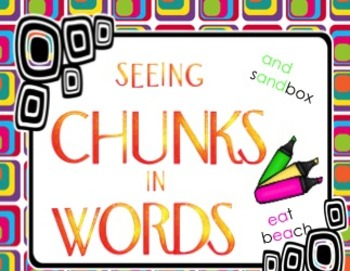 FREE Seeing Chunks In Words