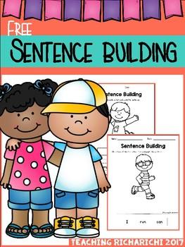 FREE Sentence Building Coronavirus Packet Distance Learning