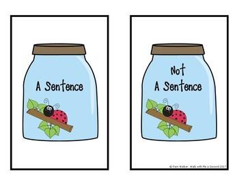 FREE Sentence or Not a Sentence