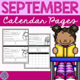Printing Practice: September Calendar Pages