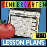 FREE September Lesson Plans for September - Back to School