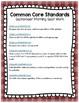 FREE September Seat Work - Kindergarten Homework - Common Core Aligned