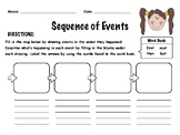 FREE Sequence of Events Worksheet
