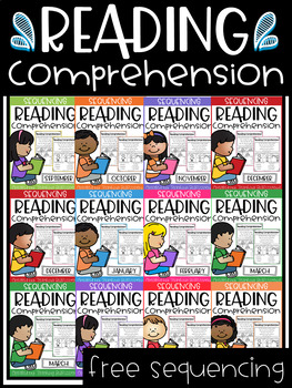 FREE Sequencing Reading Comprehension
