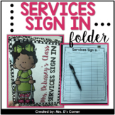 FREE Services Sign in Folder { editable }