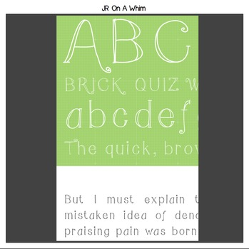 FREE Whimsical & Frames Fonts-create banners, signs,&more-personal classroom use