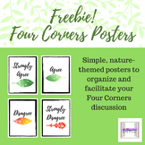 FREE Set of Nature-Themed Four Corners Posters