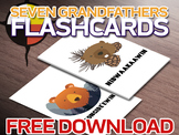FREE Seven Grandfather Teachings Ojibwe Flashcards