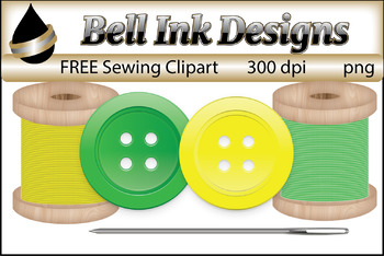FREE Sewing Clipart