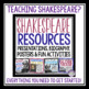 FREE SHAKESPEARE BIOGRAPHY QR CODES