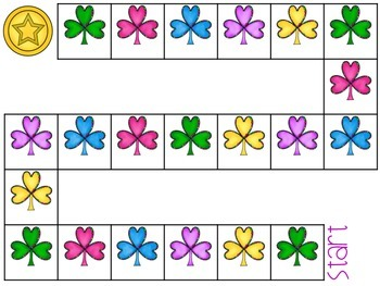 FREE! Shamrock Open-ended Game Board