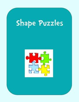 FREE Shape Puzzles (2 Piece Sets)