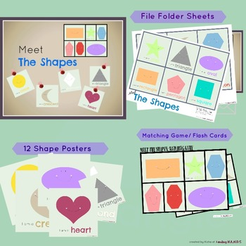 FREE Shapes printable 'Meet The Shapes
