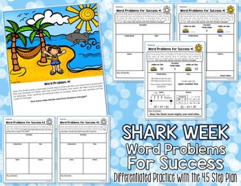 FREE Shark Week Word Problems {For Success!}