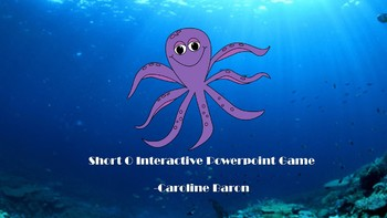 FREE Short O Interactive PowerPoint Game