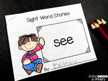 FREE Sight Word Book