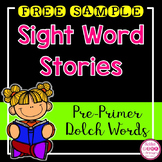 FREE Sight Word Book