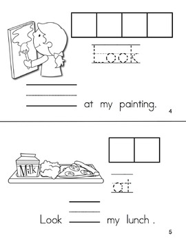 FREE Sight Word Book for Back to School (Paste, Trace, and Write)