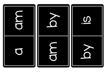 FREE Sight Word Dominoes