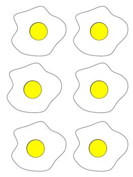 FREE Sight Word Egg Flip Game