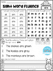 FREE Sight Word Fluency Activities